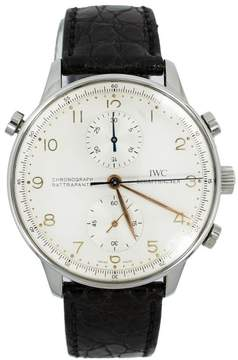 IWC IW3712-02 Portuguese Split Second Silver Dial Stainless Automatic Watch