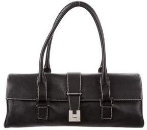 Lambertson Truex Leather E/W Shoulder Bag