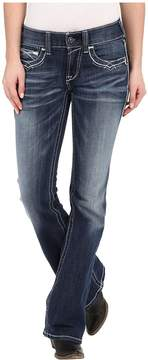 Ariat R.E.A.L.tm Boot Cut Entwined Jeans in Marine Women's Jeans