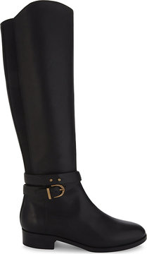 LK Bennett Kora leather knee-high boots