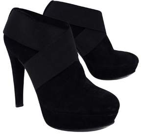 Stuart Weitzman Black Suede Shoeties