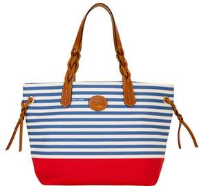 Dooney & Bourke Sullivan Shopper Tote - BLUE RED - STYLE