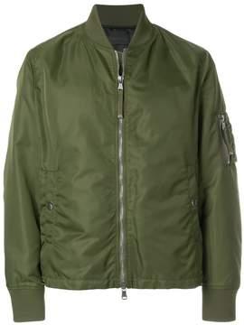 Diesel Black Gold graphic back bomber jacket