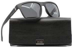 HUGO BOSS Sunglasses Boss Black Boss 918/S 0DL5 Matte Black / IR gray blue lens