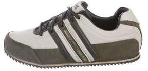 Y-3 Woven Low-Top Sneakers