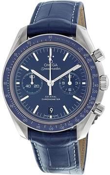 Omega Speedmaster Moonwatch Blue Dial Chronograph Men's Watch 31193445103001