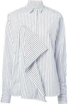 Each X Other ruffle striped shirt