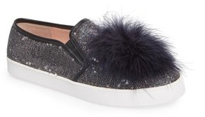 Kate Spade Women's Sequin Slip-On Sneaker