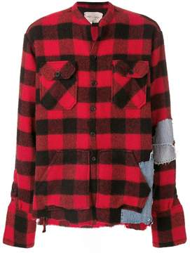 Greg Lauren checked shirt