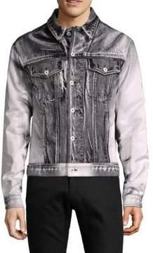 Moschino Point Collar Denim Jacket