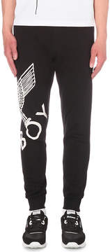 Boy London Eagle print cotton-jersey jogging bottoms
