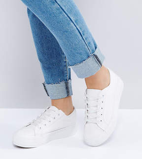 New Look Wide Fit Chunky Flatform Sneaker