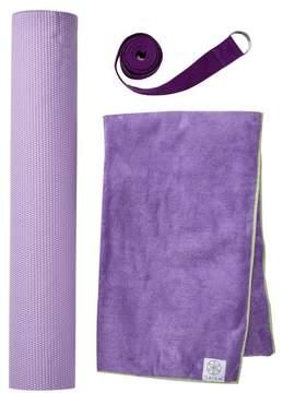 Gaiam Premium Hot Yoga Kit - Purple