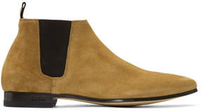 Paul Smith Tan Suede Marlowe Chelsea Boots
