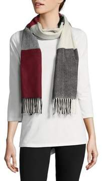 Lord & Taylor Colorblock Scarf