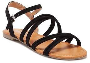 Report Gal Metallic Sandal