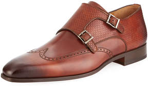 Magnanni Men's Guadiana Monk-Strap Slip-On