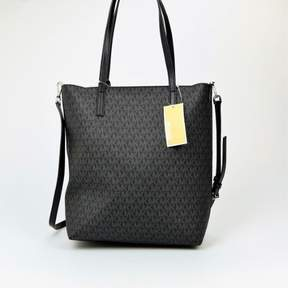 Michael Kors Hayley Large North South Top Zip Black/Grey Tote NWT $198 - ONE COLOR - STYLE