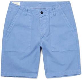 MAISON KITSUNÉ Cotton-Canvas Shorts