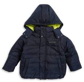 Calvin Klein Jeans Little Boy's Active Hooded Coat