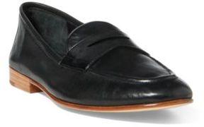 Ralph Lauren Leather Penny Loafer Black 10