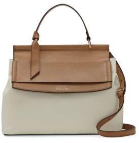 Louise et Cie Melle Leather Briefcase