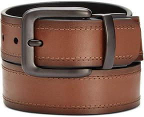 Levi's Men's Double Threaded Reversible Leather Belt