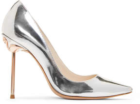 Sophia Webster Silver Coco Flamingo Heels