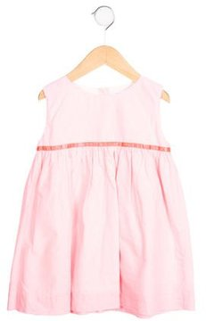 Rachel Riley Girls' Striped Gathered Dress