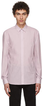 Givenchy Pink Embroidered Stars and Band Shirt
