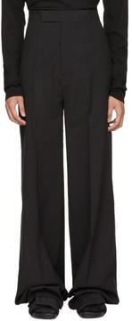 Rick Owens Black Soultrain Trousers