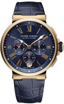 Ulysse Nardin Marine Chronograph Automatic Men's Watch