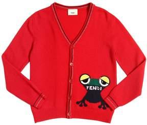 Fendi Virgin Wool & Cashmere Cardigan