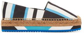 Dolce & Gabbana Tricolor Striped Espadrilles