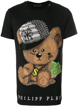 Philipp Plein Bear print T-shirt