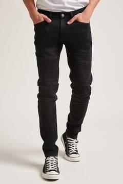 21men 21 MEN Skinny Moto Jeans