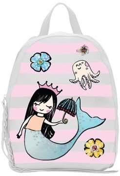 Hannah Banana Embellished Mermaid Backpack