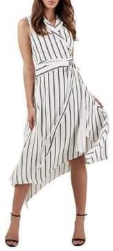 Bardot Salina Striped Shirtdress