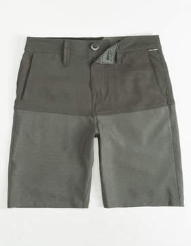 Volcom Frickin Surf N' Turf Block Boys Hybrid Shorts