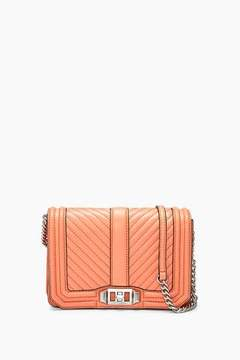 Rebecca Minkoff Chevron Quilted Small Love Crossbody - ONE COLOR - STYLE