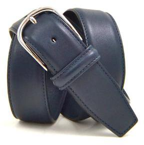 Andersons Anderson's Leather Belt in Navy