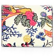 Tory Burch Parker Floral Mini Wallet