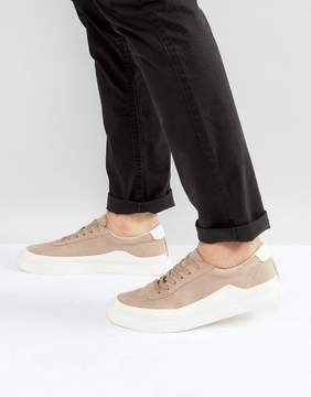 Asos Sneakers In Stone With White Wrap