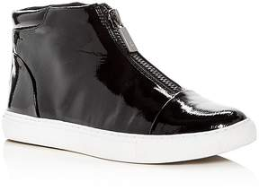 Kenneth Cole Women's Kayla Patent Leather High Top Sneakers