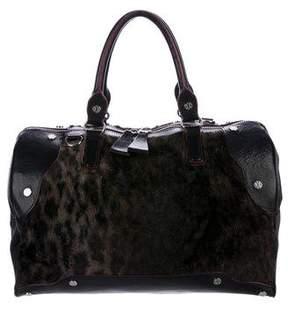 MZ Wallace Leather & Faux Fur Bag