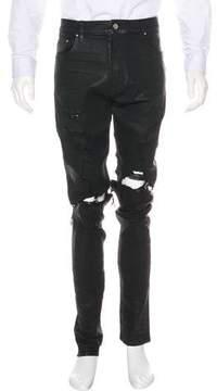 Amiri Coated Skinny Jeans