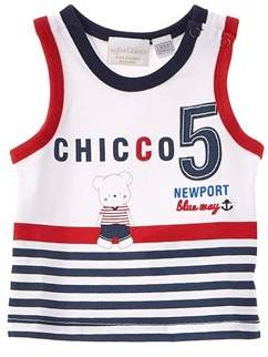 Chicco Boys' Blue & White Tank.
