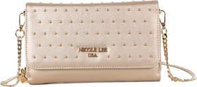 Nicole Lee Adair Pin-Dot Studded Clutch Wallet (Women's)