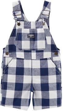 Osh Kosh Oshkosh Bgosh Baby Boy Checker Shortalls