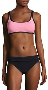 Anne Cole Contrast Bikini Top